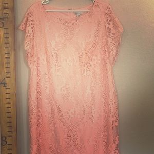 Lace Sheath Dress Cato size 18 W